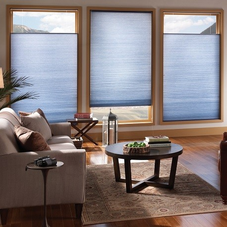 top down bottom up double cell light filtering shades - Top Down Bottom Up Blinds