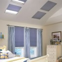 Double Cell Balcony Skylight Light Filtering Shades