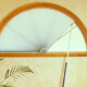 Perfect Double Cell Light Filtering Arch Shades (Movable)