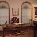 Perfect Arch Shades: Double Cell Room Darkening (Stationary)
